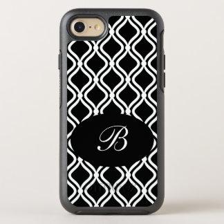 Elegant Damask Pattern OtterBox Symmetry iPhone 7 Case