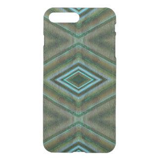 Elegant Dark Green Pattern iPhone 7 Plus Case