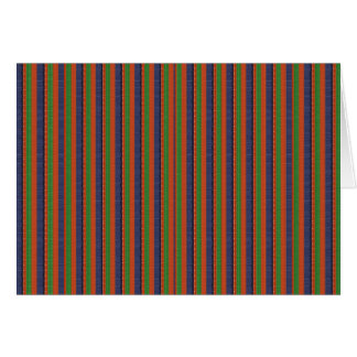 Elegant DARK SHADE Colorful Stripes :LOWPRICE GIFT Greeting Card