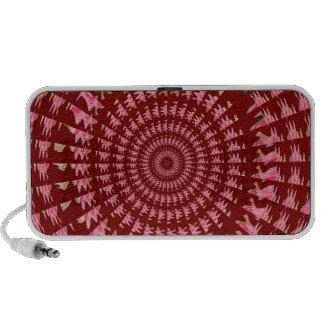 Elegant dark shade stripe sparkle festive colors travelling speaker