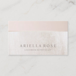 Aesthetician business cards profile cards zazzle ca elegant day spa and salon blush pink white marble business card reheart Choice Image