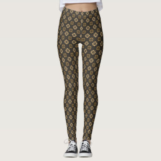 Elegant Deco Pattern Leggings