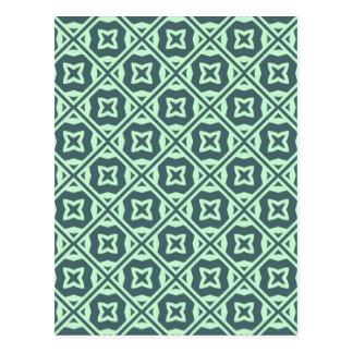 Elegant Decorative Pattern Postcard