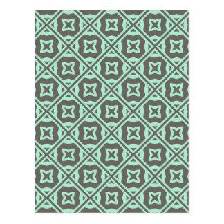 Elegant Decorative Pattern Post Card
