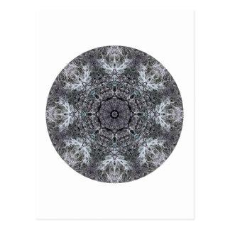 Elegant Decorative Round Pattern. Custom Postcard