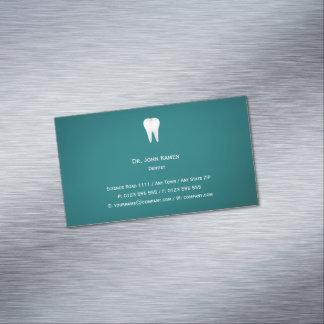 Elegant Dental Aqua Business Card