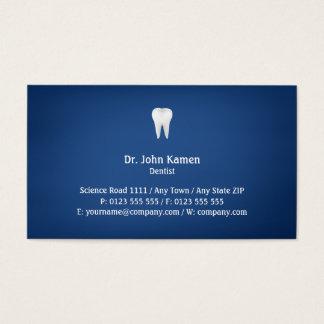 Elegant Dental | Blue Business Card