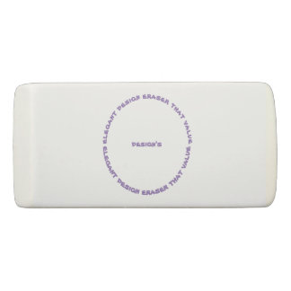 elegant design eraser that value