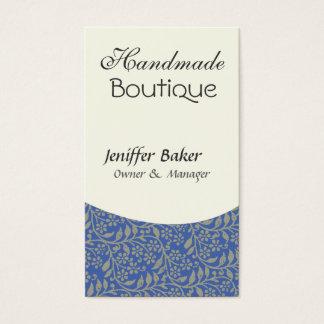 Elegant  Design  Jack of All Trades Retro Blue Business Card