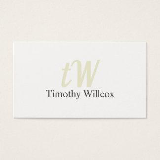 Elegant design Modern Minimalist Target Business Card