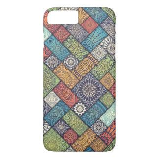 Elegant Diagonal Floral Tiles   Phone Case
