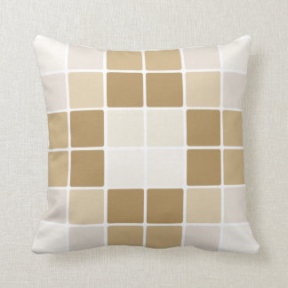 Elegant digital cubes pillow