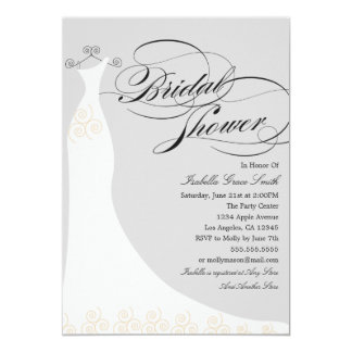 Elegant Dress | Choose Your Own Background Color Card