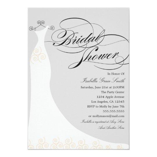 Elegant Dress | Choose Your Own Background Colour Card