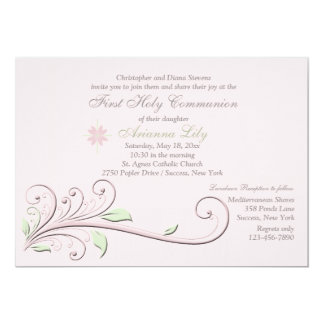 Elegant Element Religious Occasion Invitation