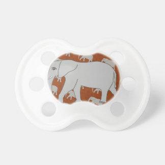 Elegant Elephant Pacifier