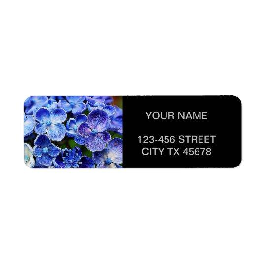 elegant english country garden blue purple lilac