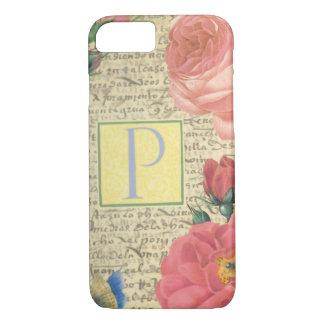Elegant English Roses. iPhone 8/7 Case