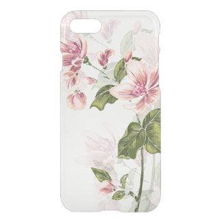 Elegant Engraved Wildflowers iPhone 7 Case