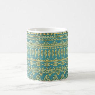 Elegant Ethnic Golden Pattern | Classic Mug