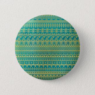 Elegant Ethnic Golden Pattern | Pin Button
