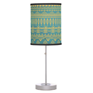 Elegant Ethnic Golden Pattern | Table Lamp