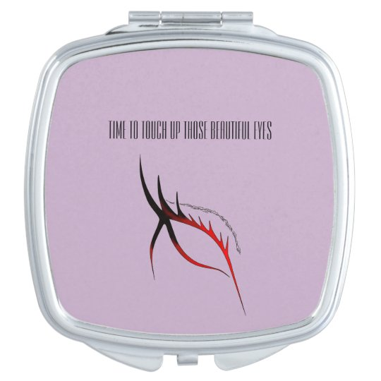 ELEGANT EYE MAKEUP DESIGN FOR COMPACT MIRROR