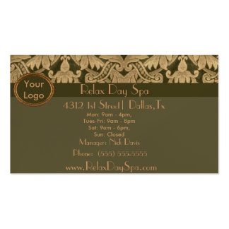 Elegant Fabric Pack Of Standard Business Cards