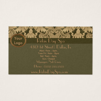 Elegant Fabric Business Card