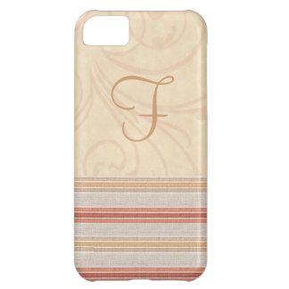 Elegant Fall Monogram iPhone 5C Cover