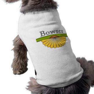 Elegant Fan Flower Pet Clothing