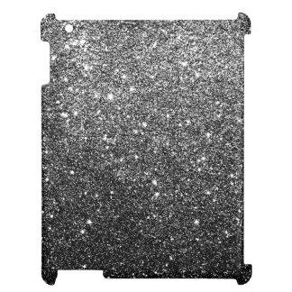 Elegant Faux Black Glitter Cover For The iPad