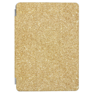 Elegant Faux Gold Glitter iPad Air Cover