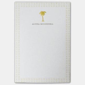 Elegant Faux Gold Pine Tree Post-it® Notes