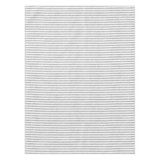 Elegant Faux Silver Glitter Stripe Pattern Tablecloth