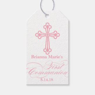 Elegant First Communion Party Favor Labels|Tags Gift Tags