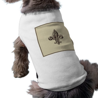Elegant Fleur de lis Pet Clothes
