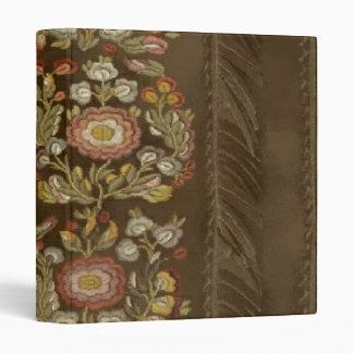 Elegant Floral Brown Design ~ Avery Binder 1 EZD