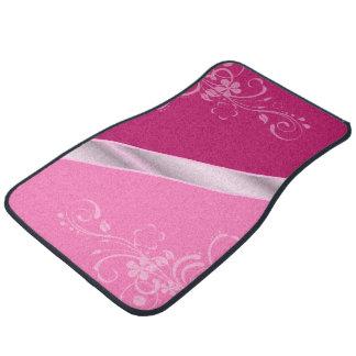 Elegant Floral Car Mats Floor Mat