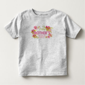Elegant Floral Happy Mother's Day | Shirt