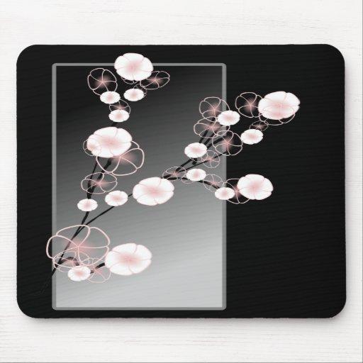 Elegant Floral Mouse Pads