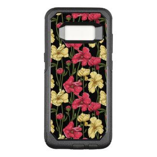 Elegant floral pattern 2 OtterBox commuter samsung galaxy s8 case