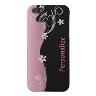 Elegant Floral | Pink Tourmaline iPhone 5/5S Cases