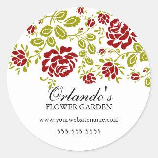 Elegant Floral Stickers