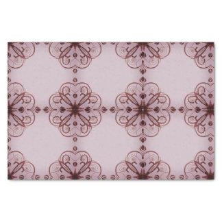 Elegant Floral Tissue Paper Gothic