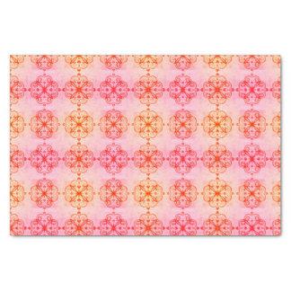 Elegant Floral Tissue Paper Retro Pink small
