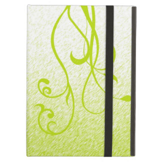Elegant Floral & Vines iPad Air Cover