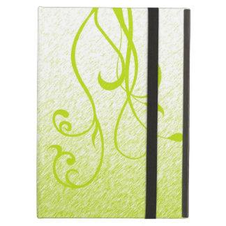 Elegant Floral Vines iPad Folio Cases