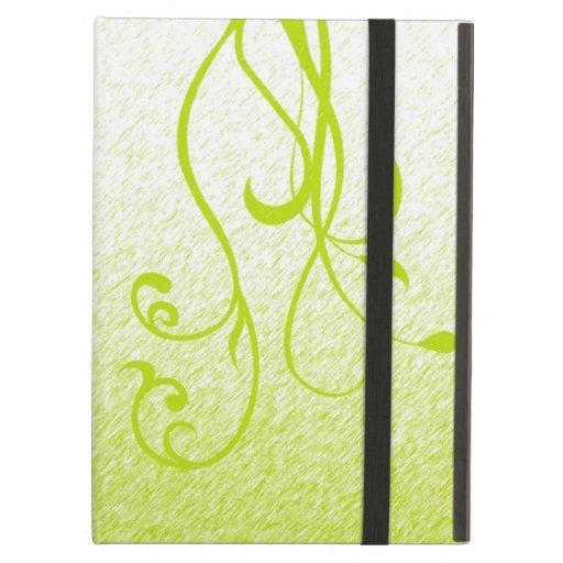 Elegant Floral & Vines iPad Folio Cases