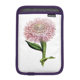 ELEGANT FLORAL VINTAGE PINK FLORAL iPad MINI SLEEVE